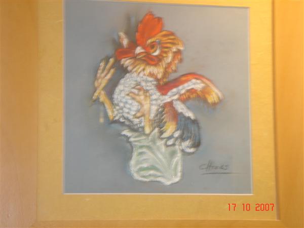 Carmen Heras. Pintura al Óleo y Pastel. GALLO